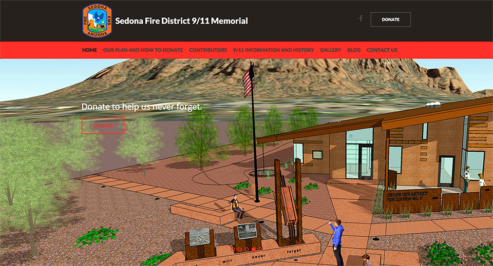 Sedona Fire District 9/11 Memorial